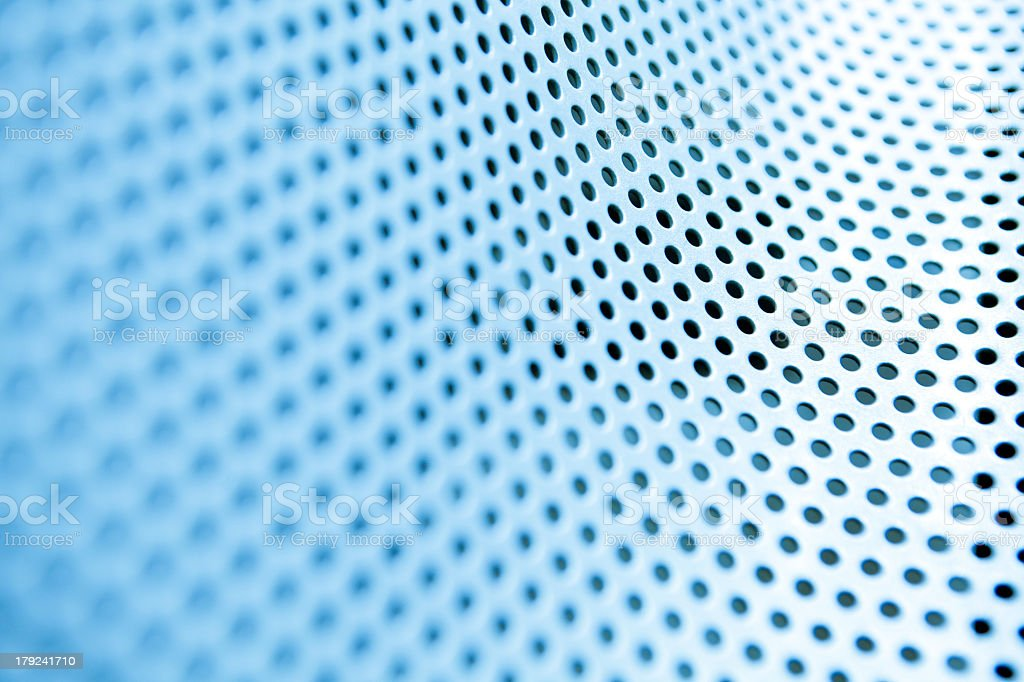 metal background with circles royalty-free stock photo
