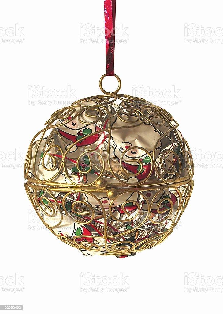 metal ball decoration royalty-free stock photo