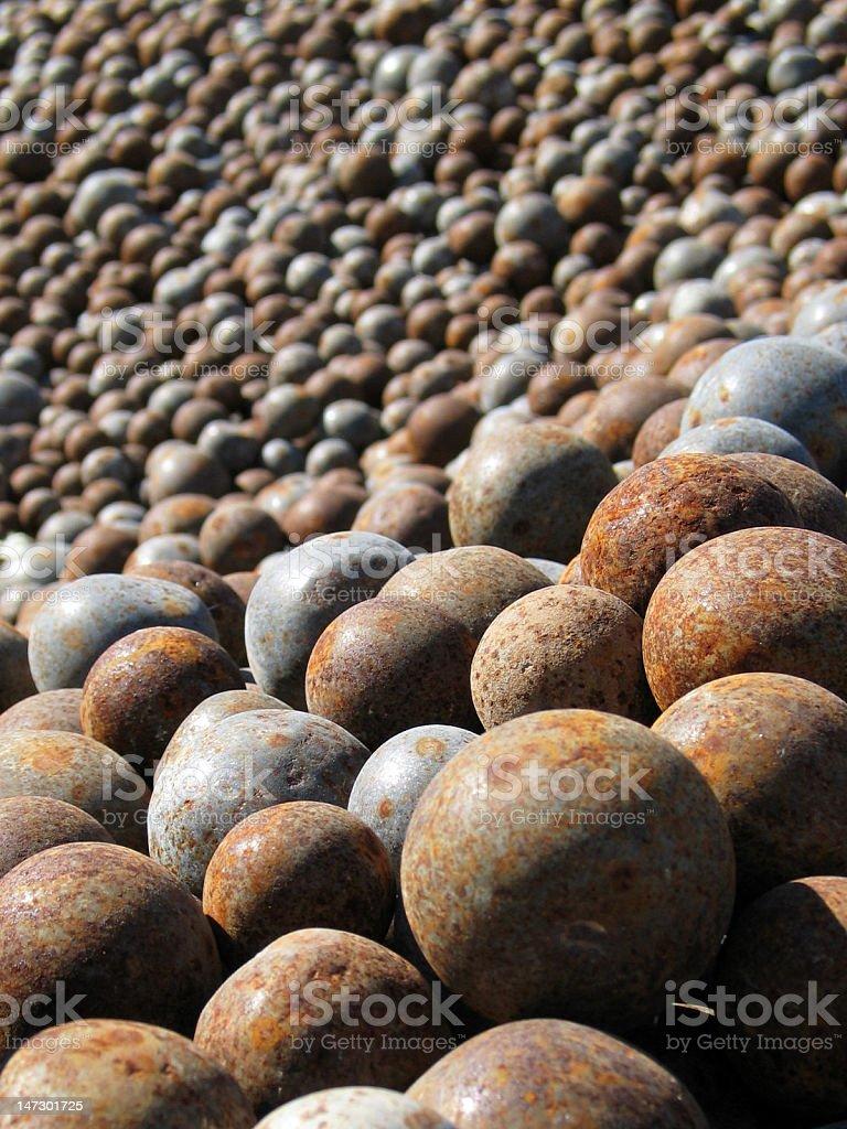 Metal balls royalty-free stock photo