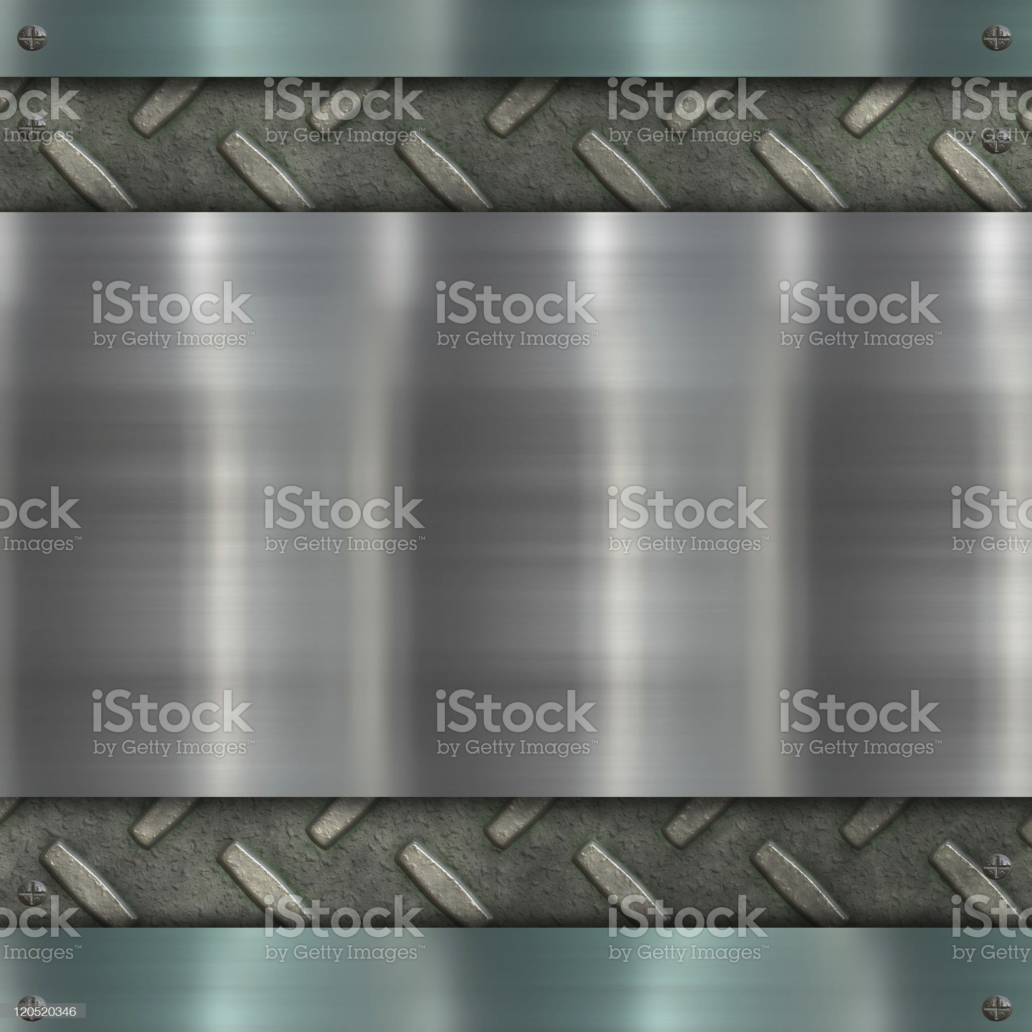 metal banner royalty-free stock photo