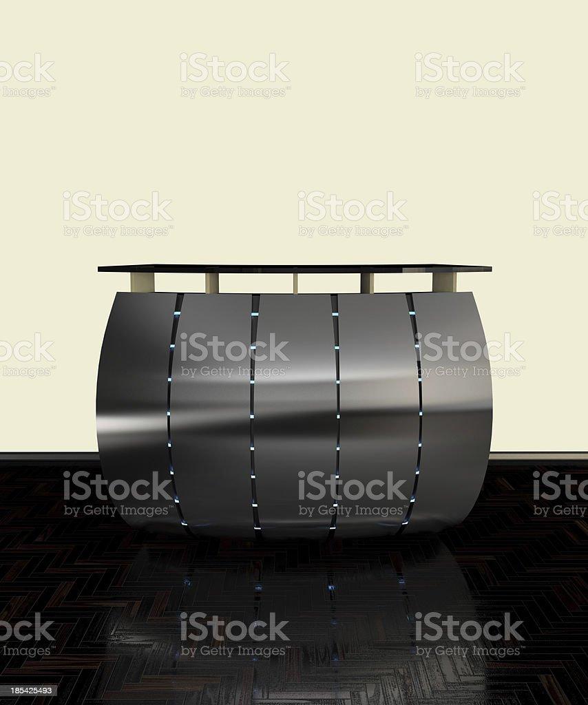 metal bar counter royalty-free stock photo