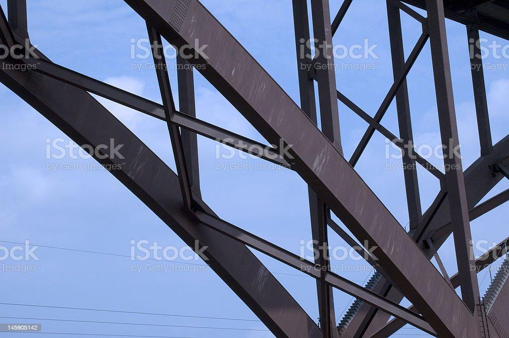 Metal Bridge royalty-free stock photo