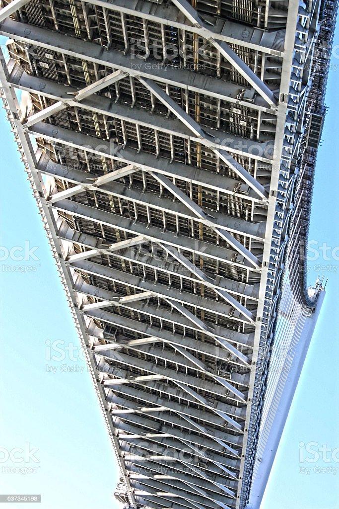 Metal Bridge stock photo