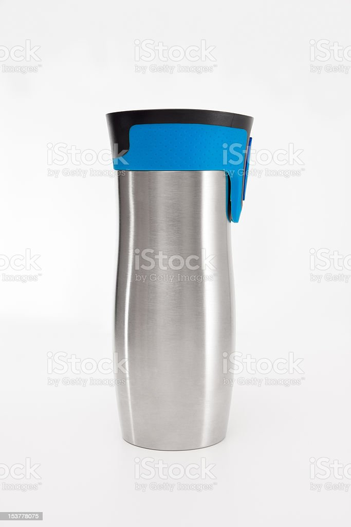Metal Canteen stock photo