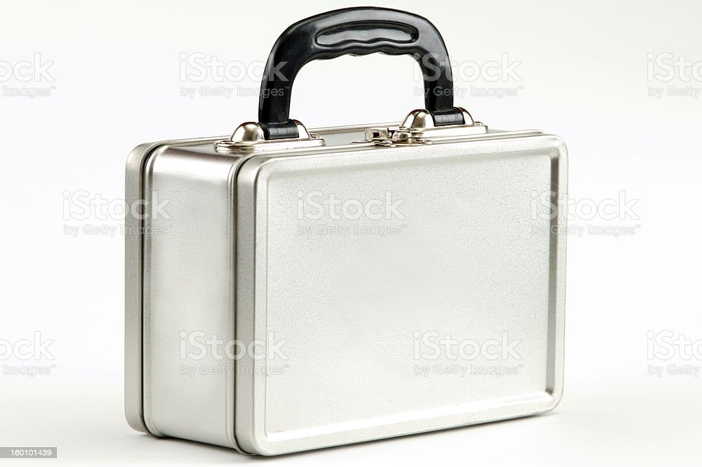 metal case stock photo