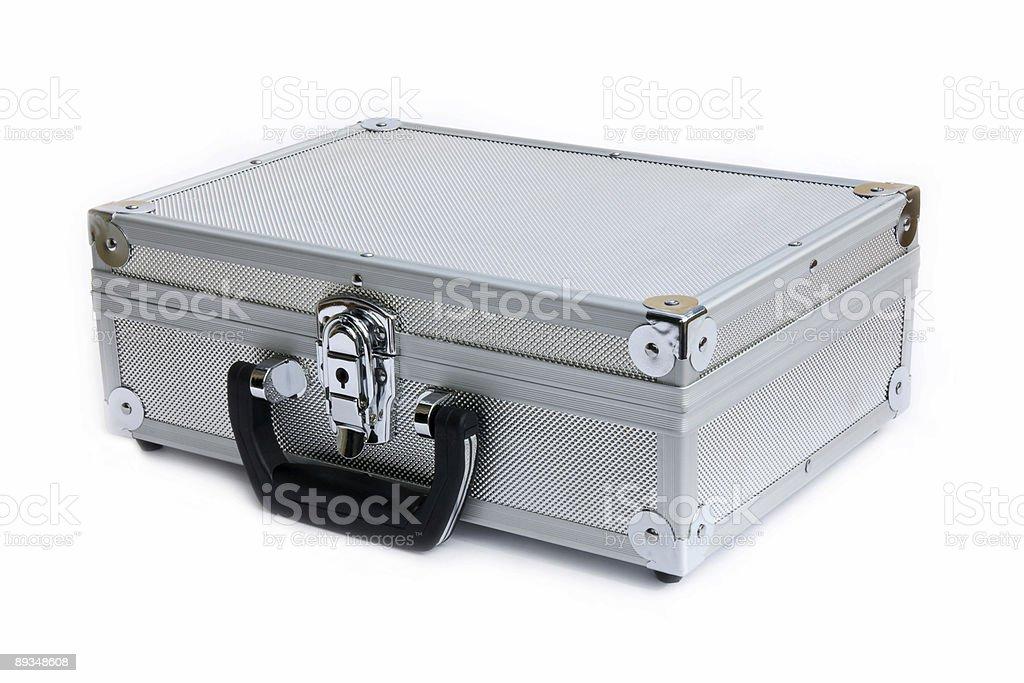 Металлический case Стоковые фото Стоковая фотография