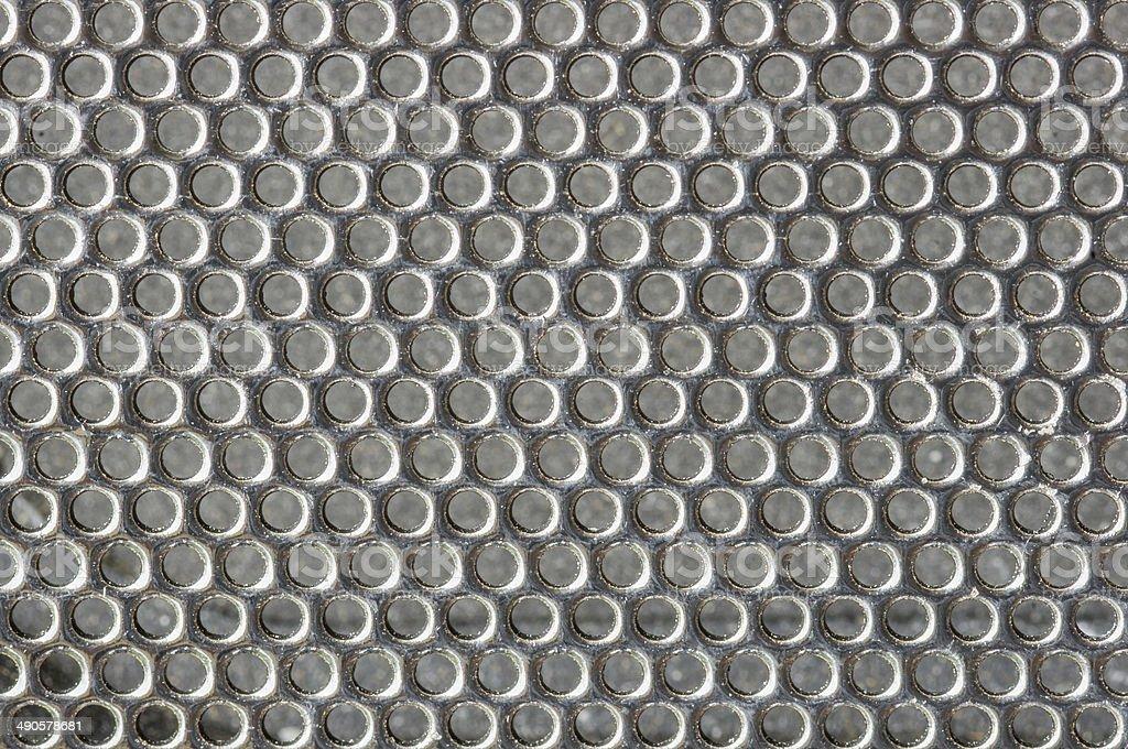 Metal Cells Texture stock photo