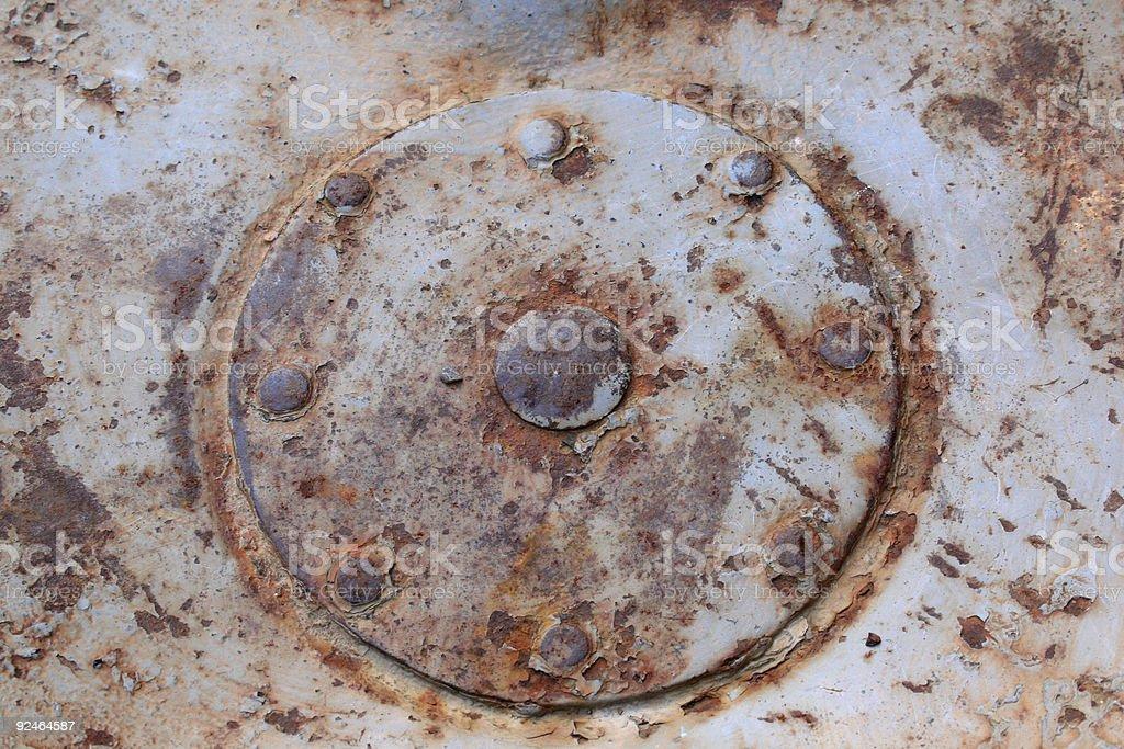 Metal circle royalty-free stock photo