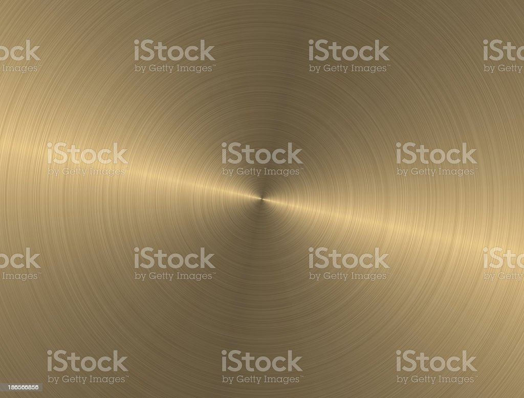 Metal circle texture light gold background royalty-free stock photo