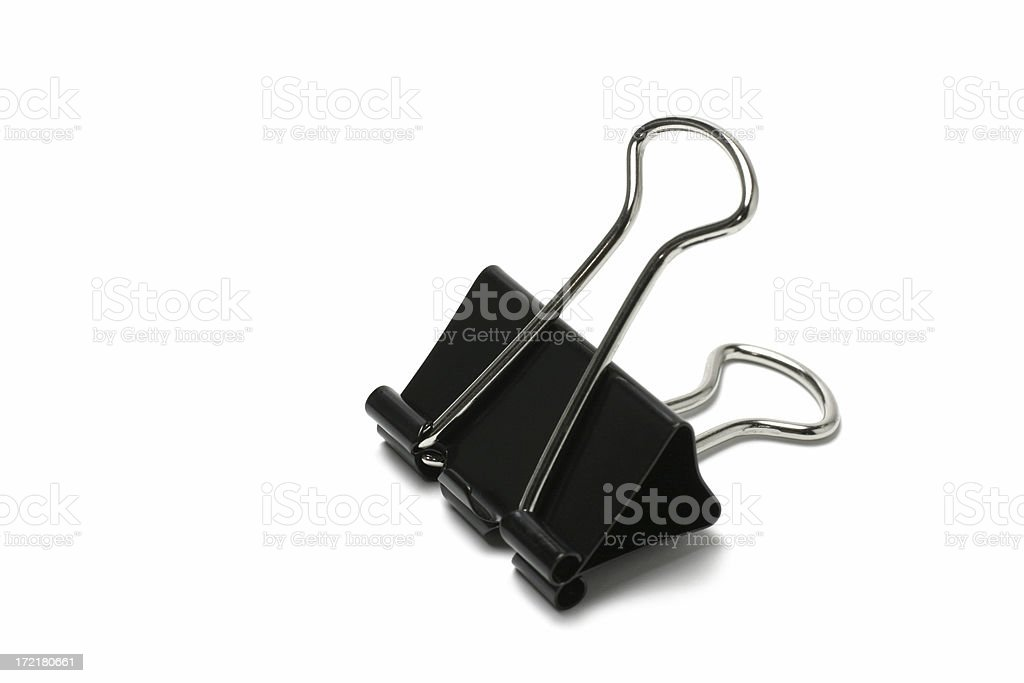 Metal Clip royalty-free stock photo