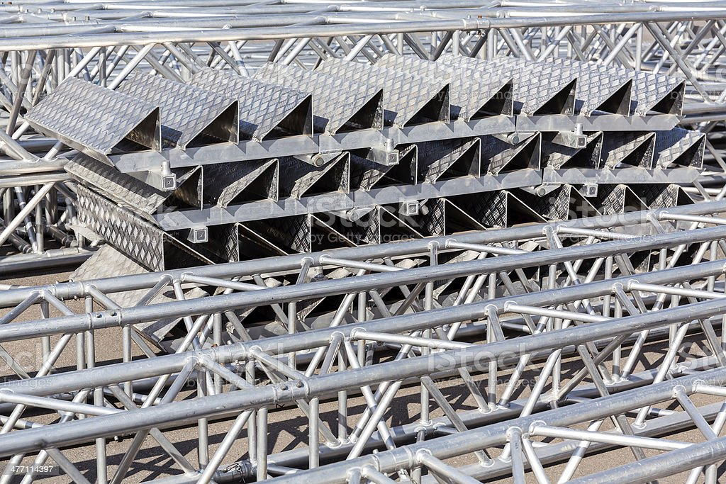 Metal construction royalty-free stock photo