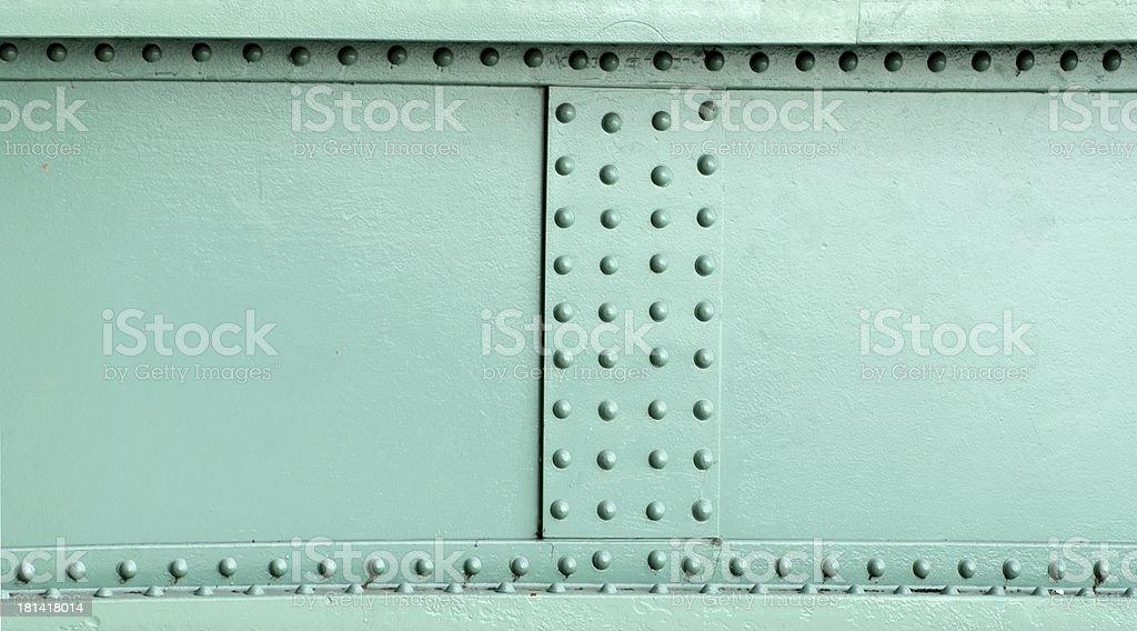 metal construction rivets royalty-free stock photo
