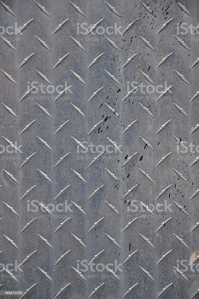 Metal Cross Hatch Background royalty-free stock photo