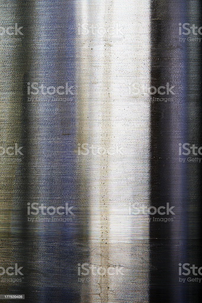 Metal Cylinder. Color Image royalty-free stock photo