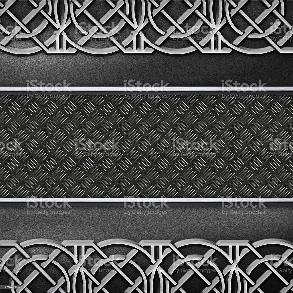 Metal design background stock photo