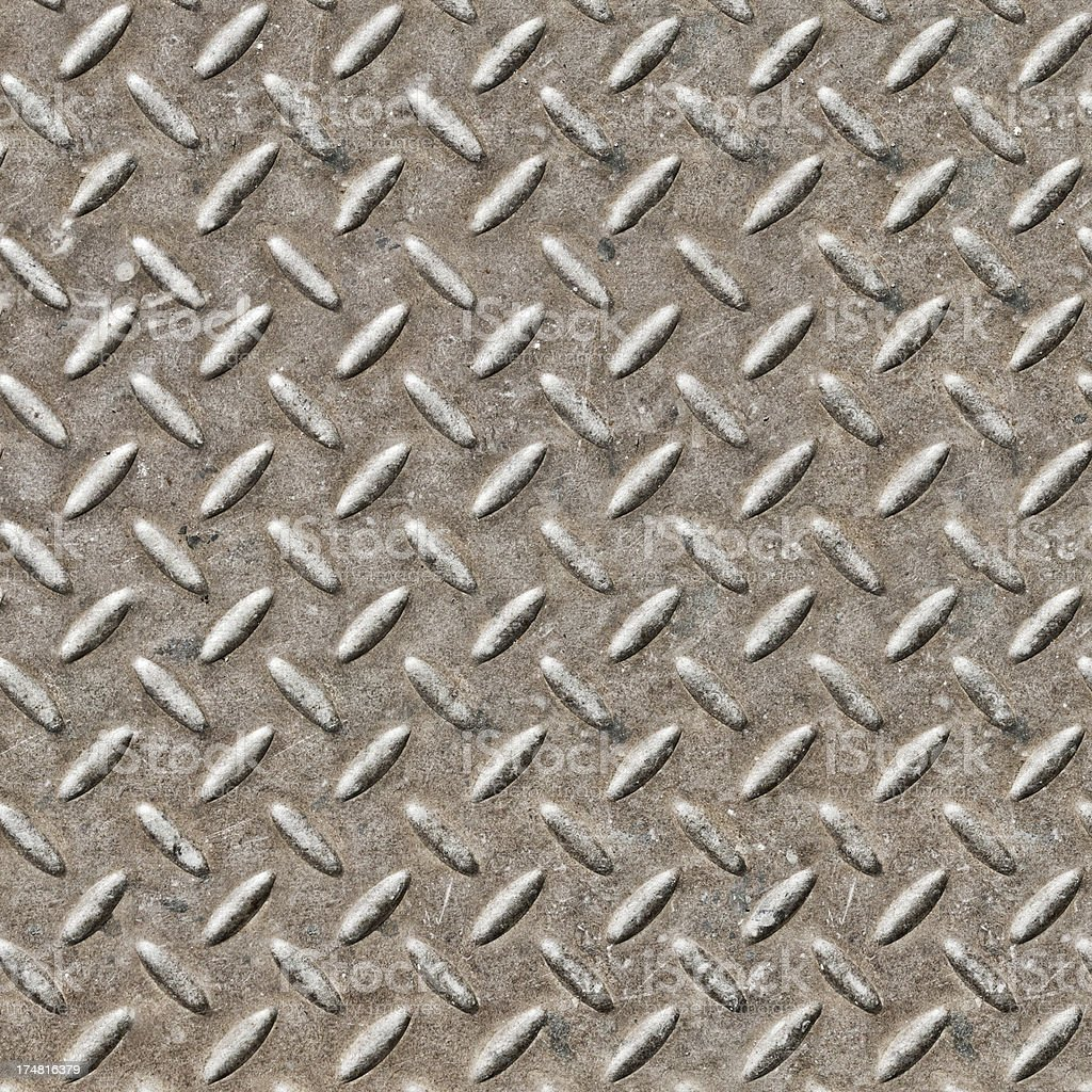 metal diamond plate royalty-free stock photo