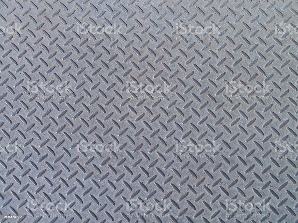 Metal Diamond Plate Texture Background stock photo