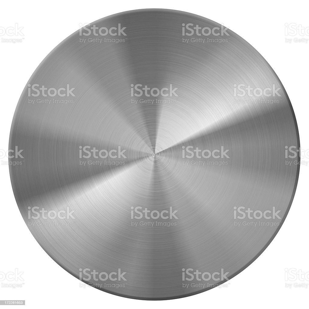 metal disc | button stock photo