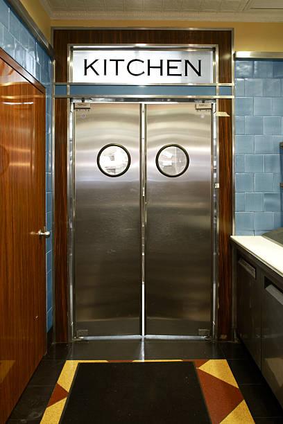 kitchen half swinging doors