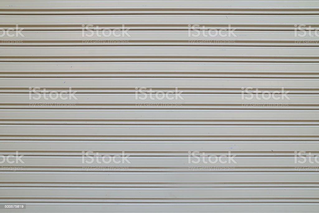 Metal door surface stock photo