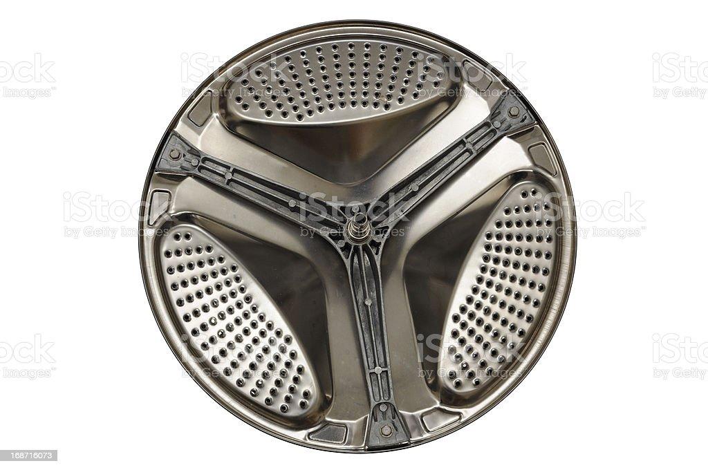 Metal drum royalty-free stock photo