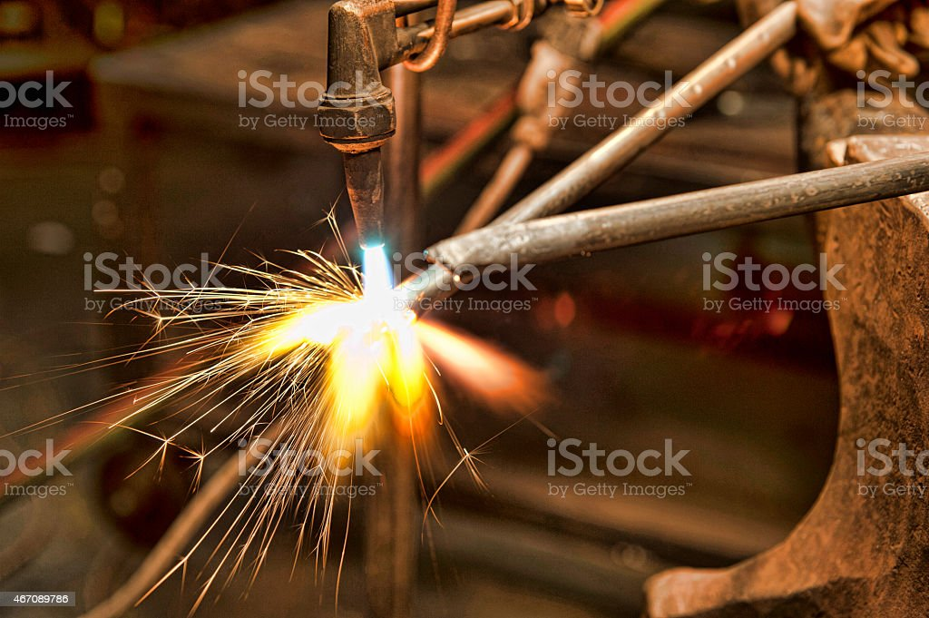 metal fabricator stock photo