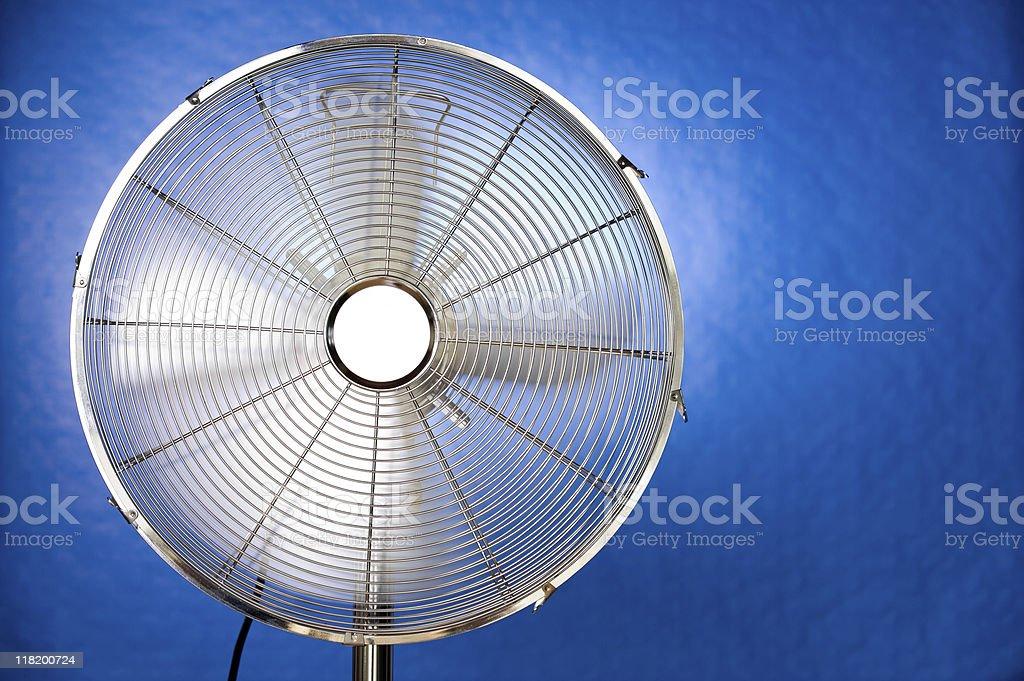 metal fan royalty-free stock photo