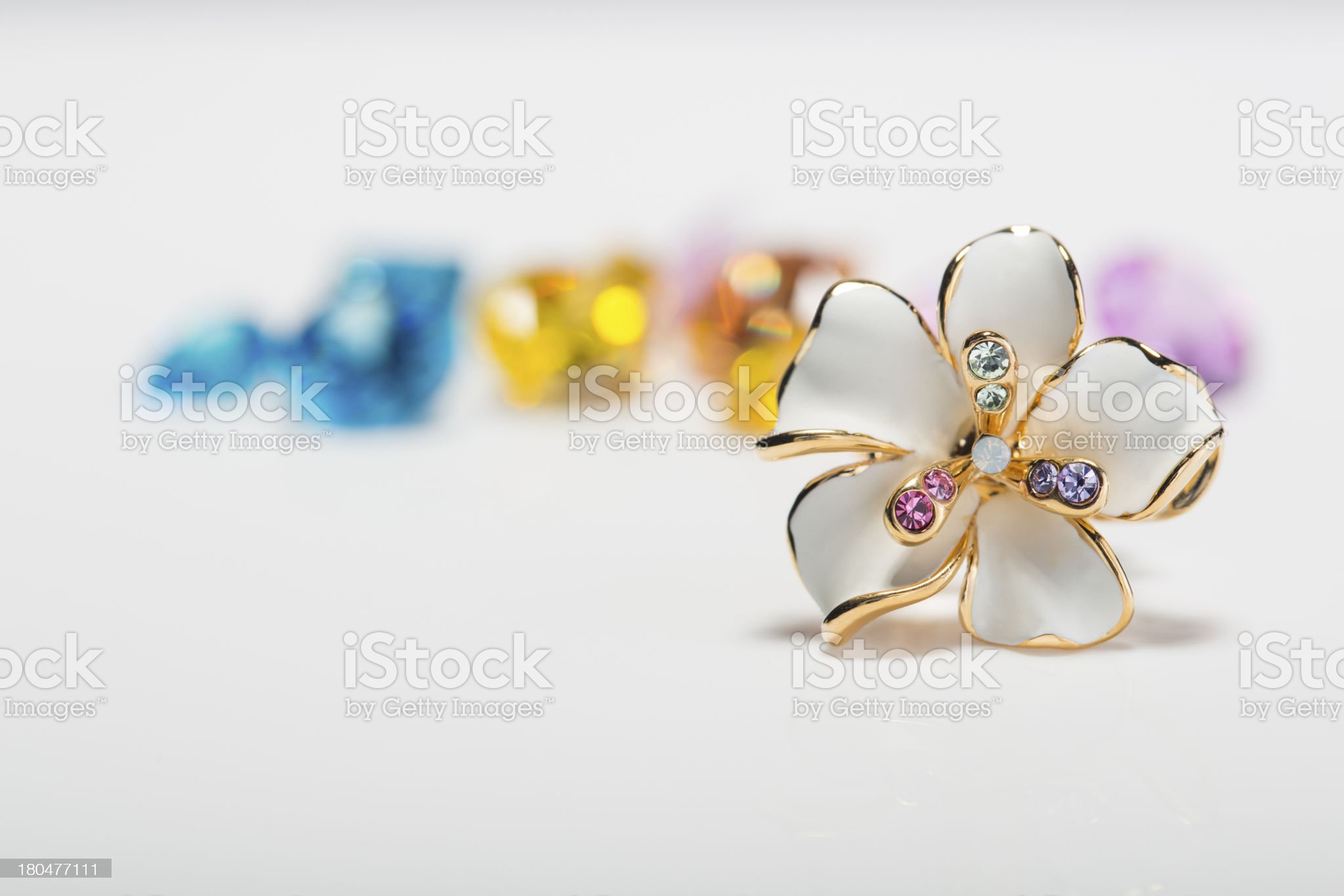 metal flower royalty-free stock photo