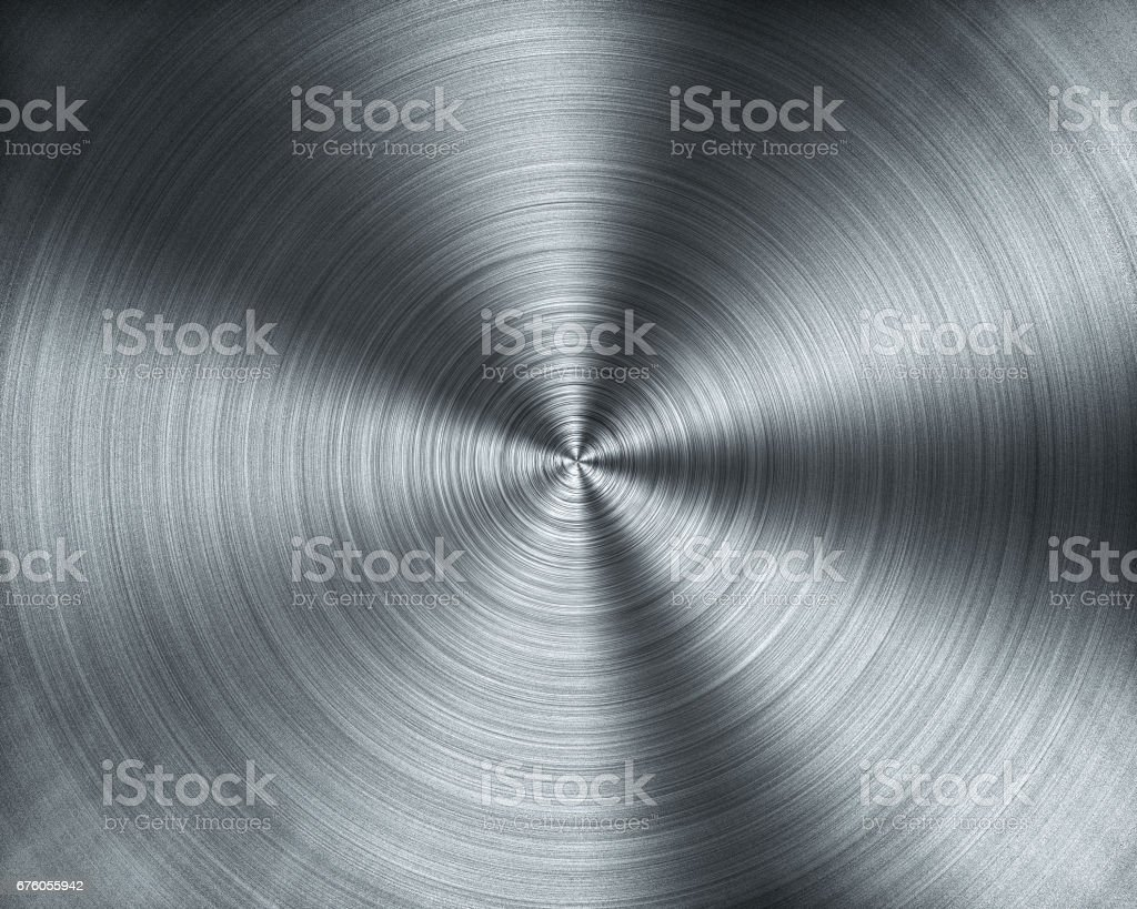 Metal forming from CNC Lathing machine texture stock photo