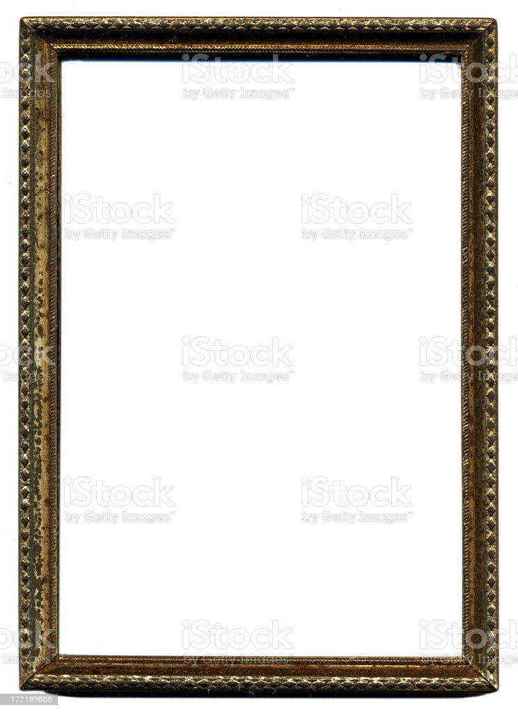 Metal Frame 3 royalty-free stock photo