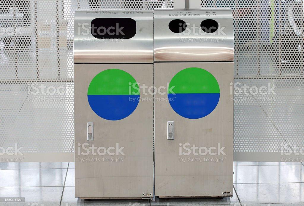 Metall-Container Lizenzfreies stock-foto