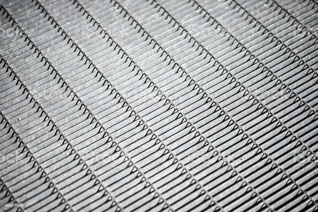 Metal grate abstract background royalty-free stock photo