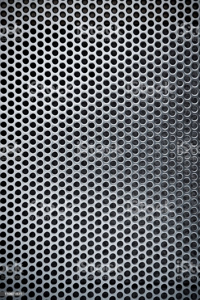 Metal grate royalty-free stock photo