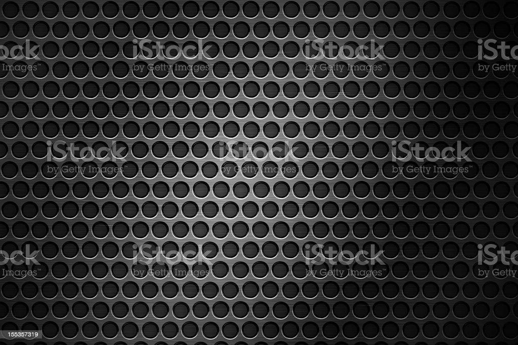Metal grid royalty-free stock photo