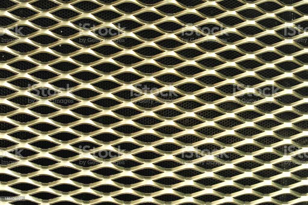 Metal Grill Background royalty-free stock photo