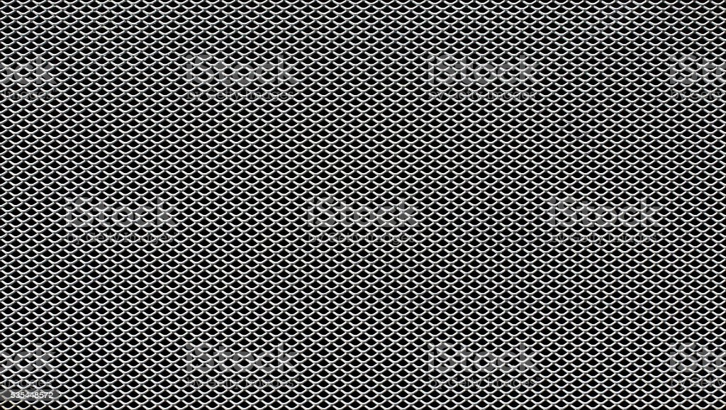 Metal grill texture stock photo