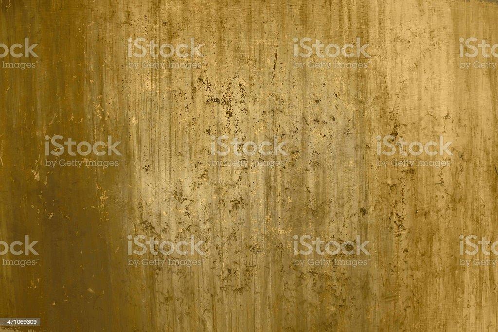 Metal grunge background Gold wallpaper royalty-free stock photo