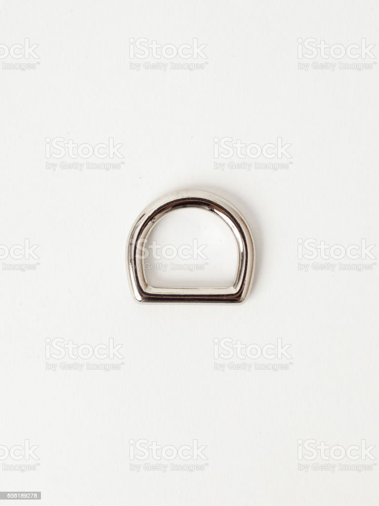 Metal hardware pieces stock photo
