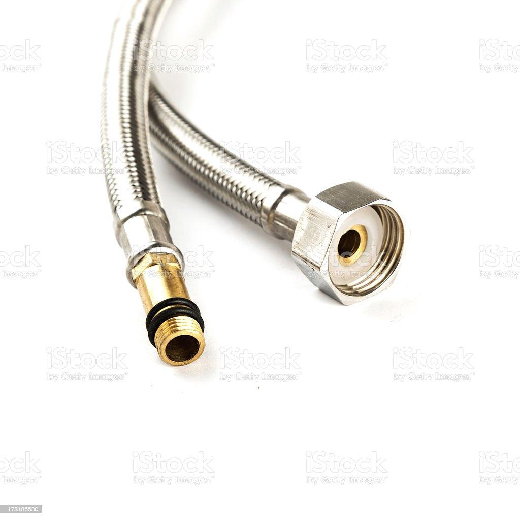 metal hose royalty-free stock photo