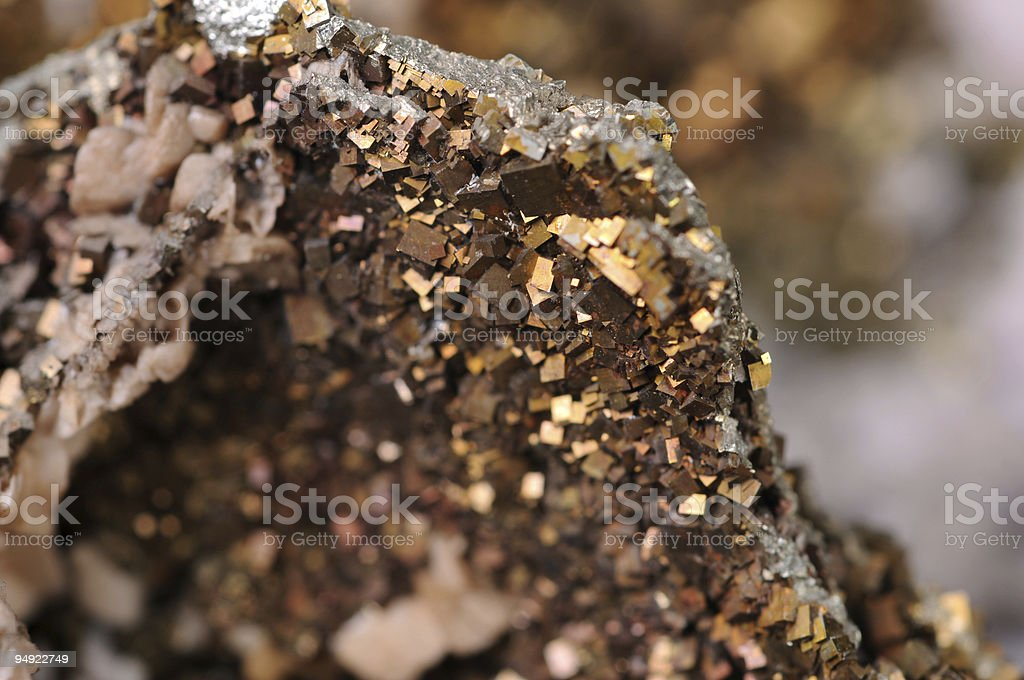Metal ore stock photo