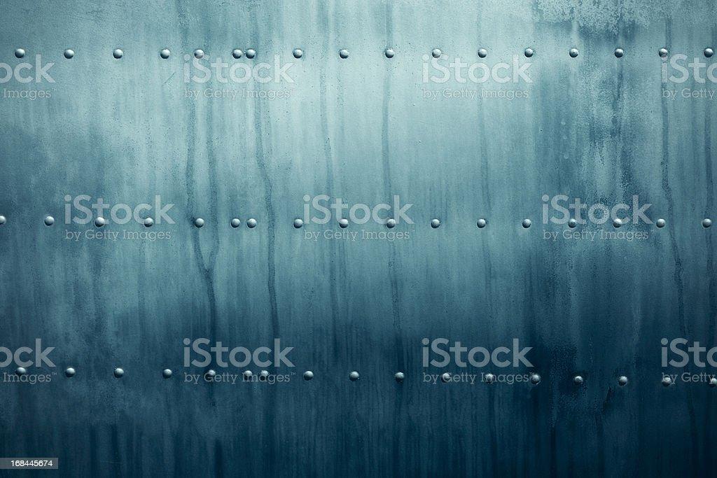 Metal hull stock photo