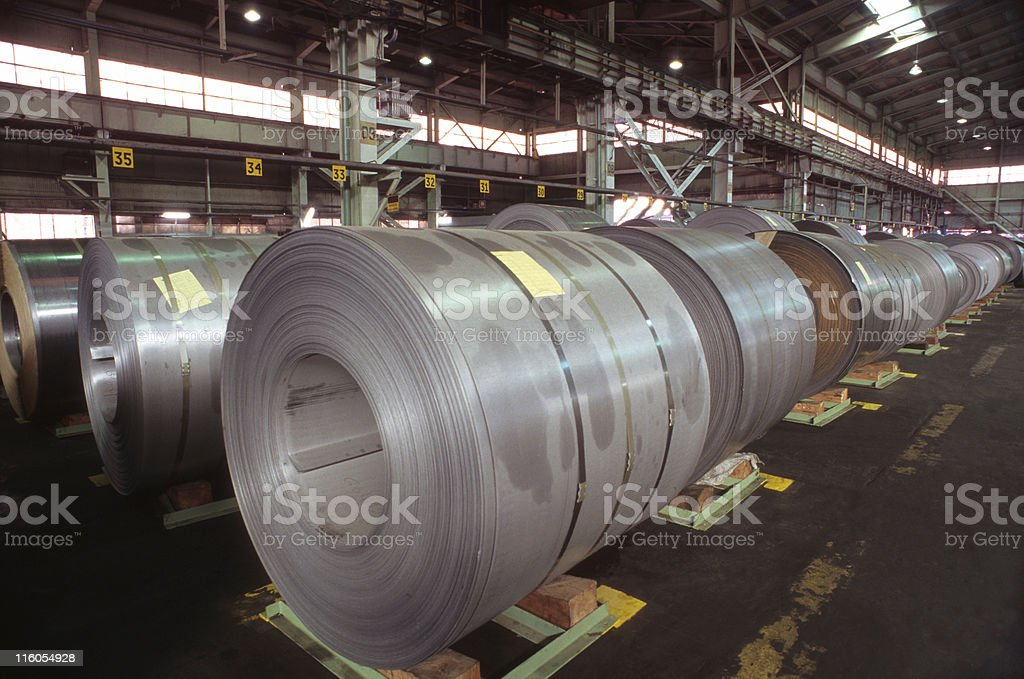 Metal industry royalty-free stock photo