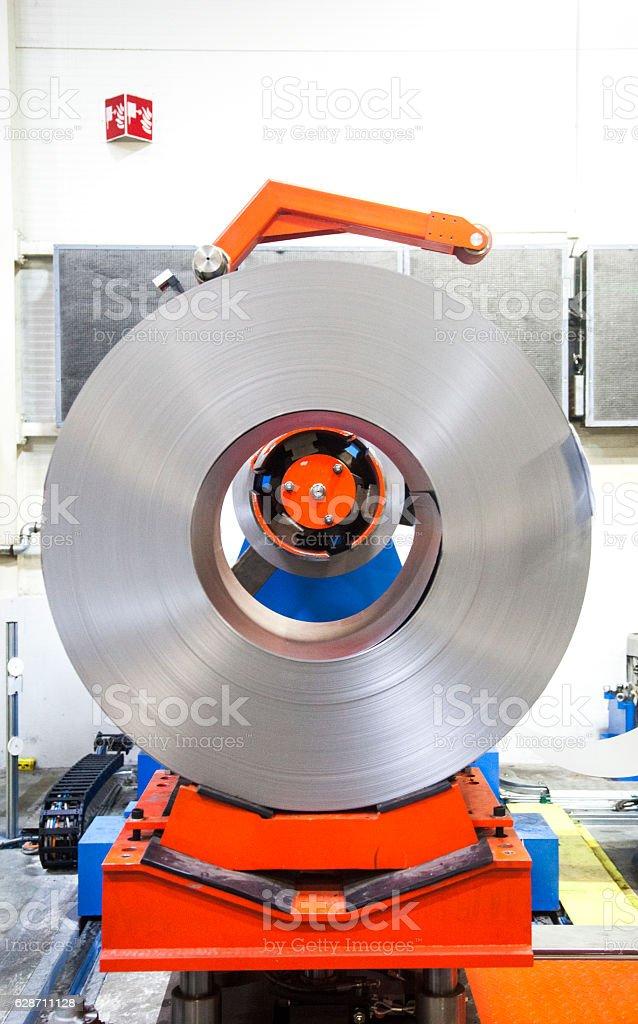 Metal industry stock photo