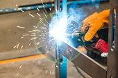Metal inert gas (MIG) welding