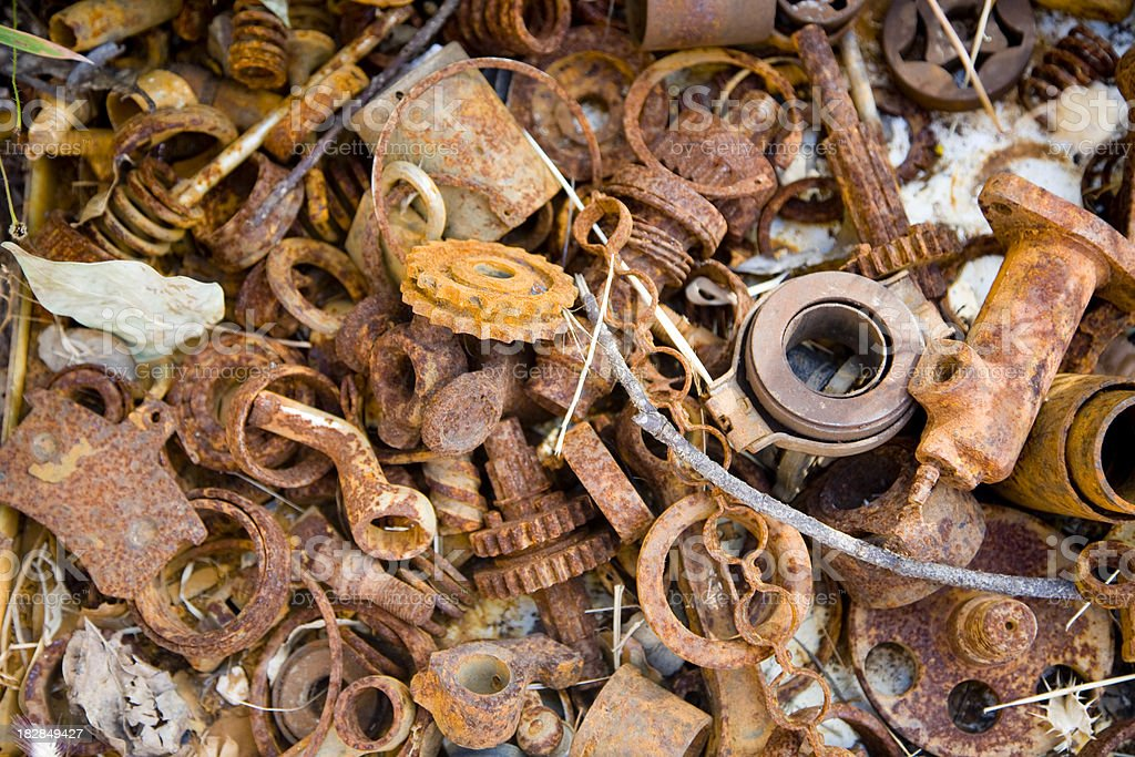 Metal junk royalty-free stock photo