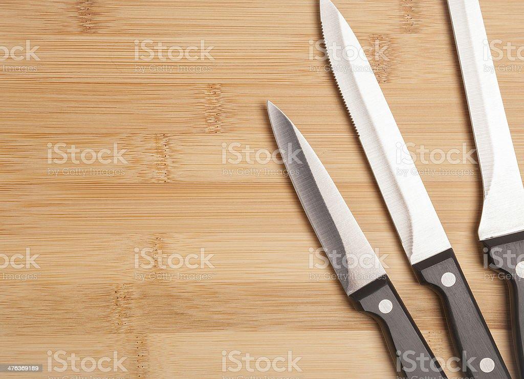 metal knife stock photo