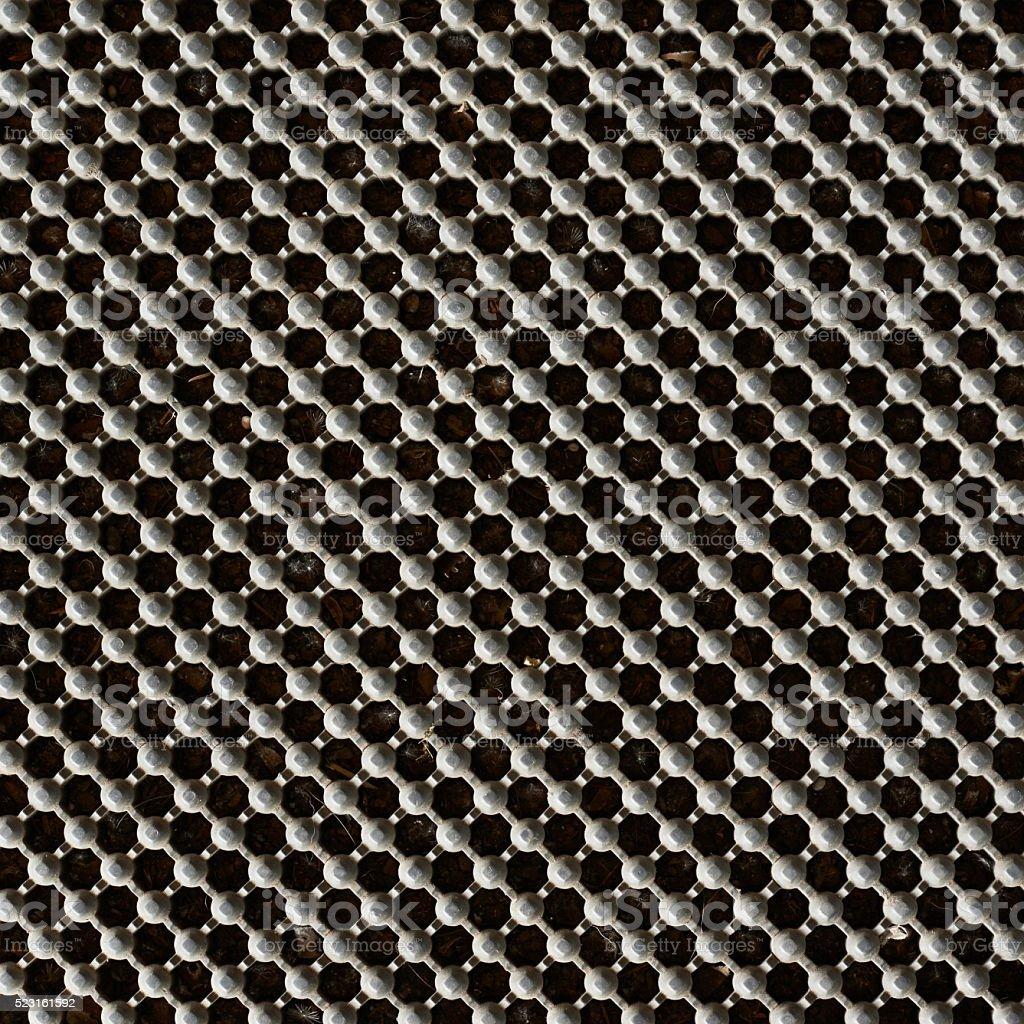 Metal lattice background stock photo
