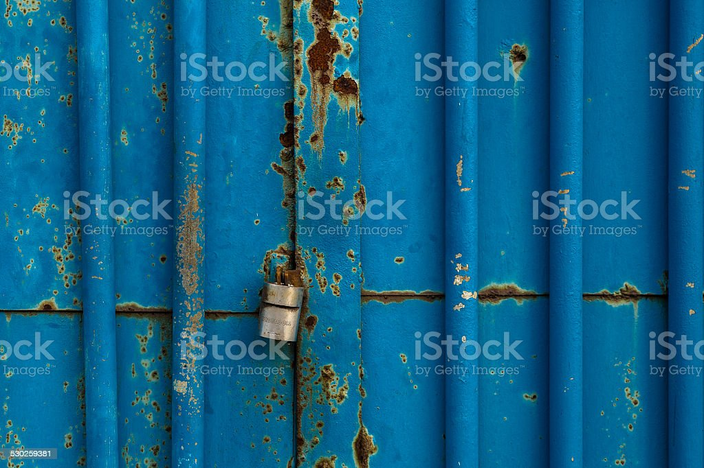 Metal lock stock photo