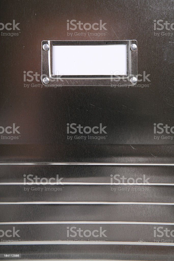 Metal Locker royalty-free stock photo