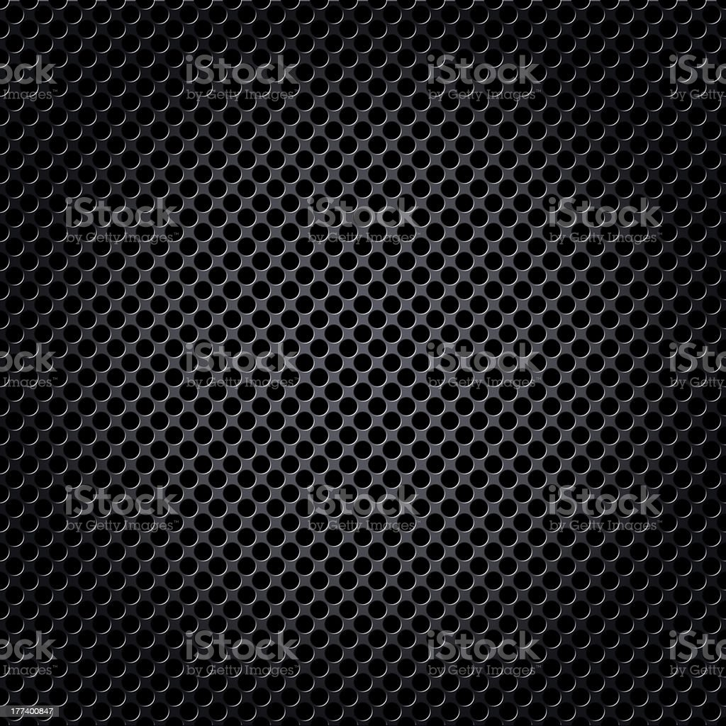 Metal mesh background with spot light royalty-free stock photo